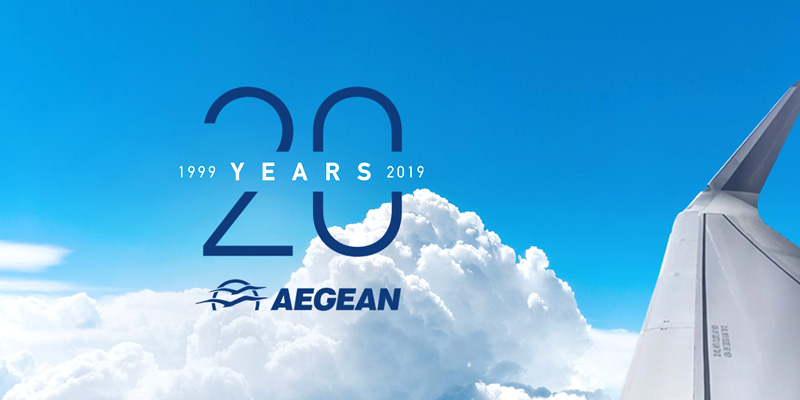Распродажа авиабилеты в честь 20-летия Aegean Airlines