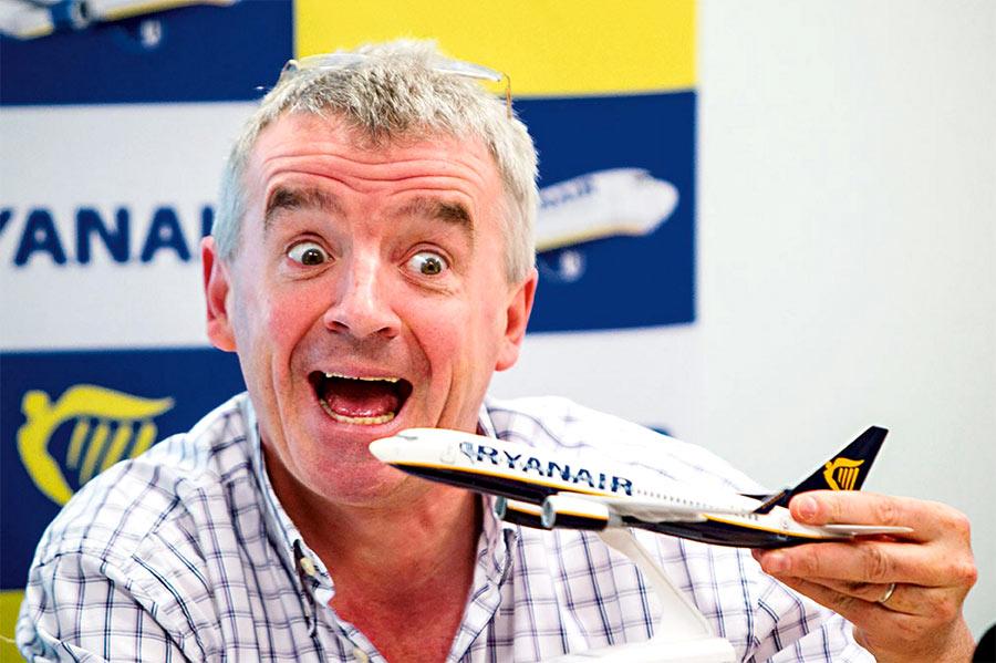 Распродажа авиабилетов Ryanair