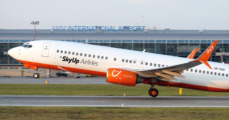 SkyUp лето 2020. Скидки на авиабилеты лоукостера