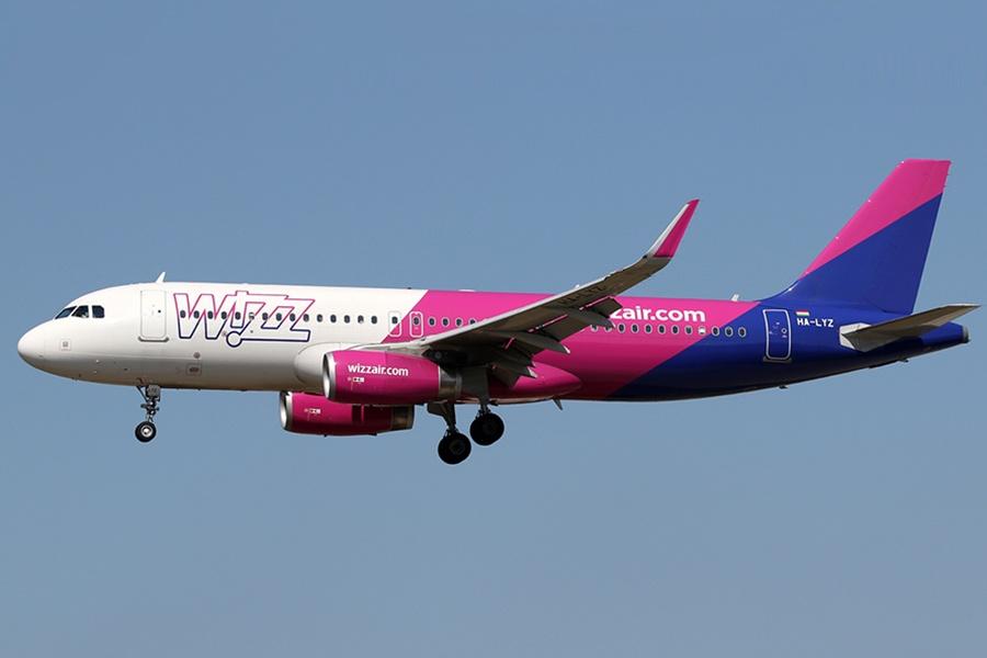 A320 Wizz Air из Львова