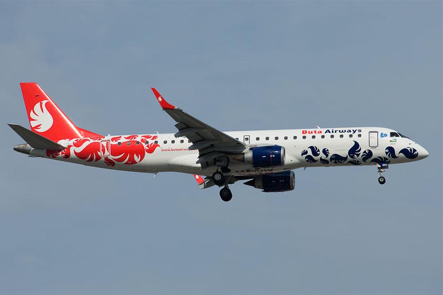 Buta Airways Embraer 190