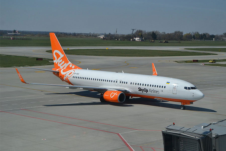 Новые международные рейсы SkyUp