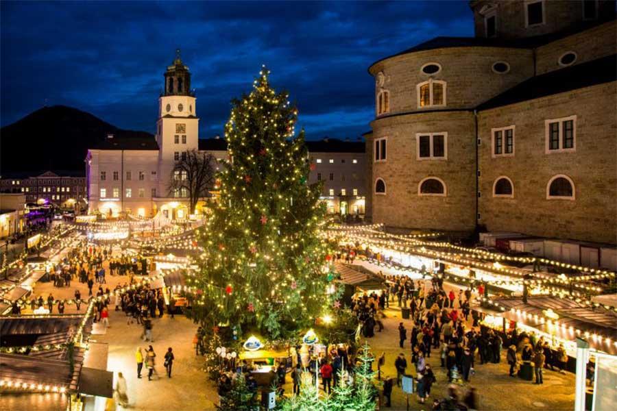 Рождественские ярмарки в Зальцбурге
