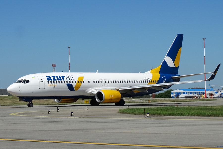 авиакомпания Azur Air Ukraine