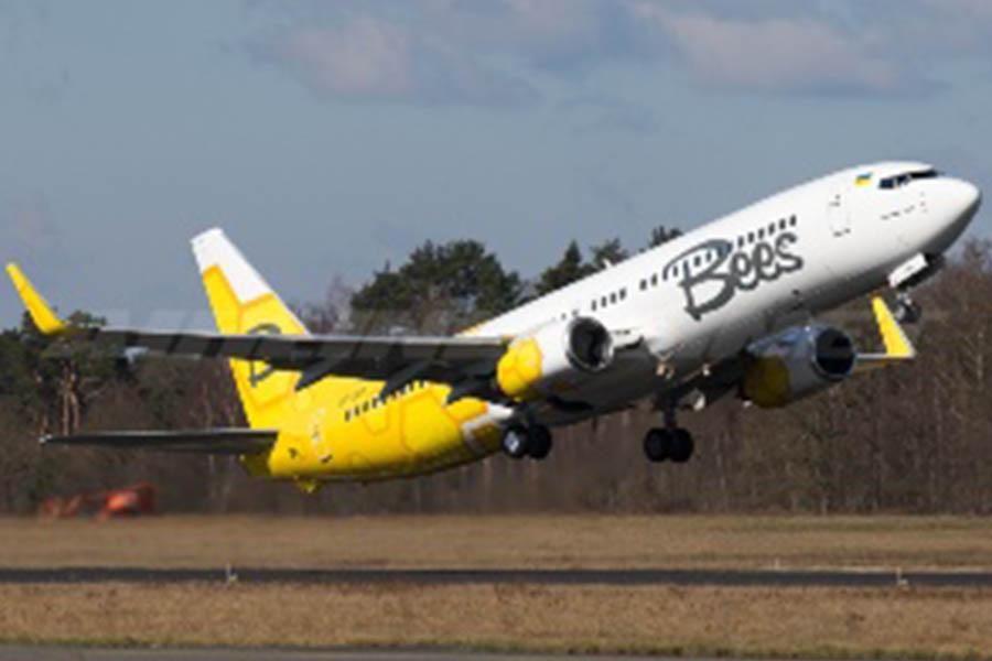 Первые рейсы Bees Airline