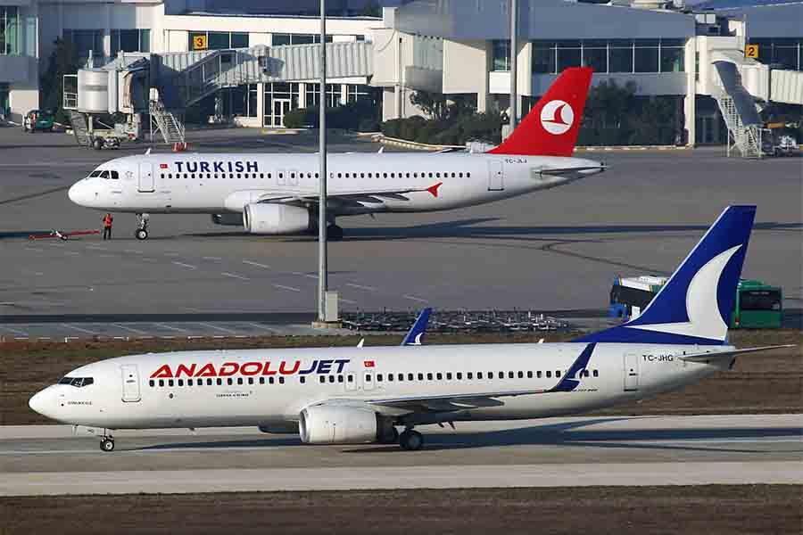 Авиакомпания AnadoluJet