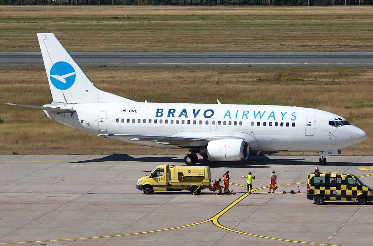 авиакомпания браво Bravo Airways
