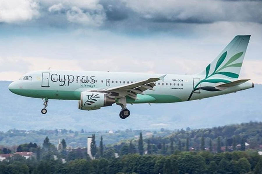 Киев Ларнака Cyprus Airways