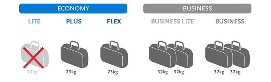 Нормы провоза багажа Чешских авиалиний