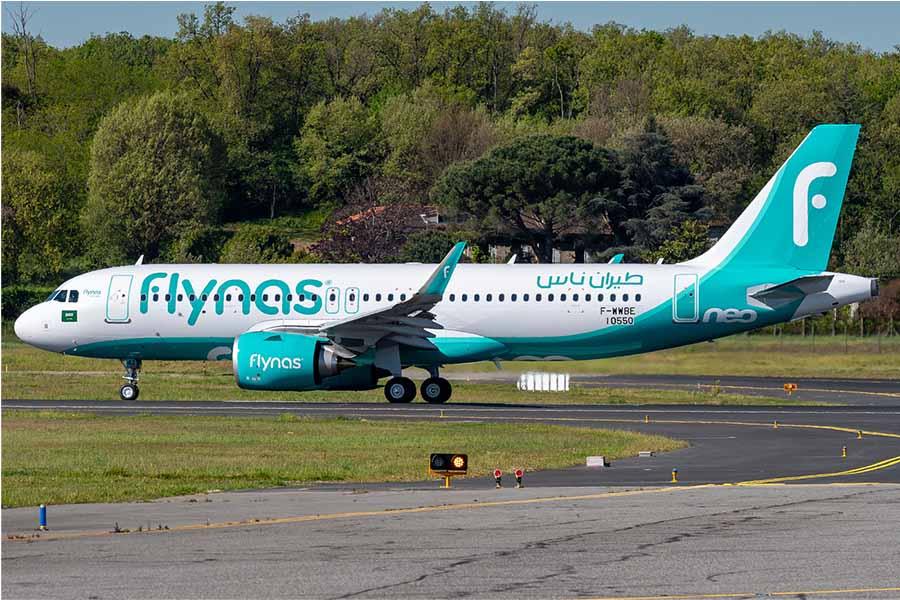A320neo Flynas Lvov