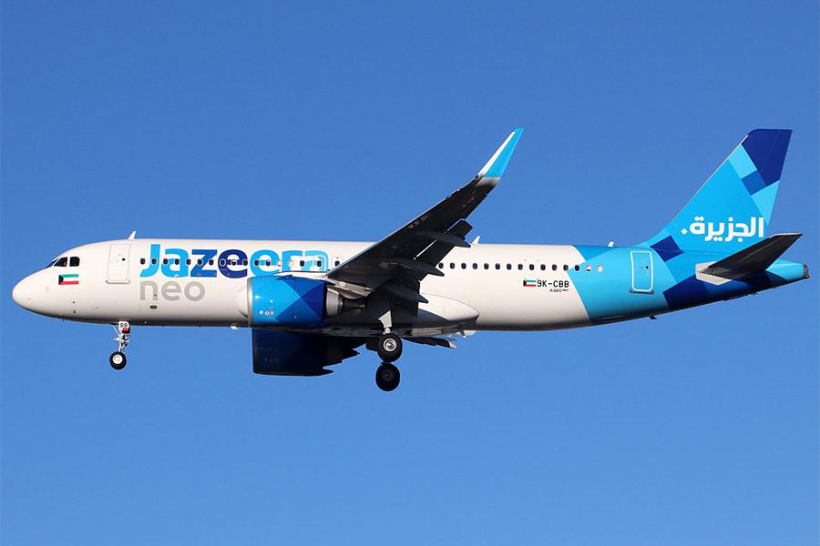 Авиакомпания - лоукостер Jazeera Airways