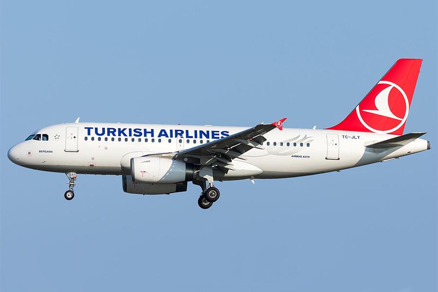 самолет Херсон Стамбул Херсон Turkish Airlines