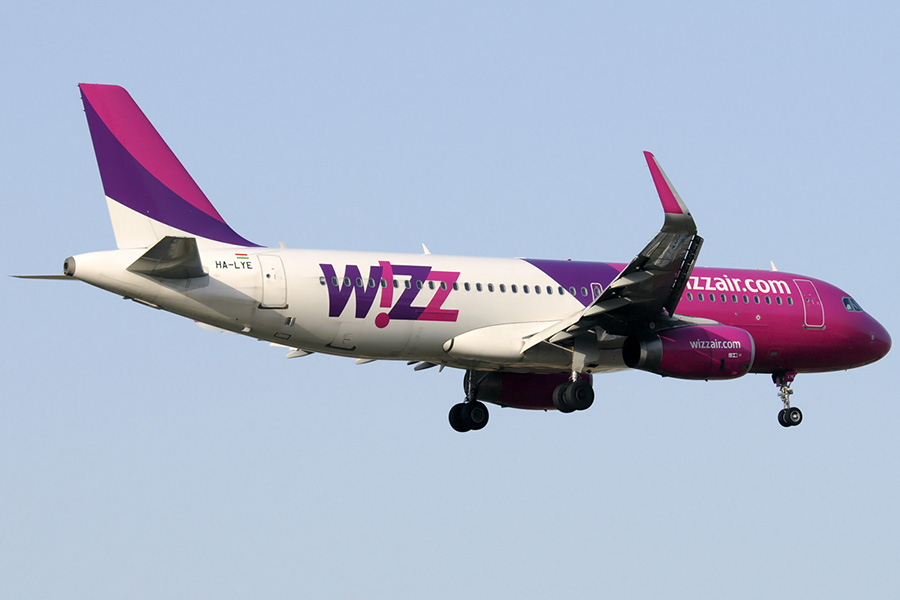 Одесса - Будапешт - Одесса Wizz Air